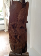 Our wooden Thai buddha - I love it!
