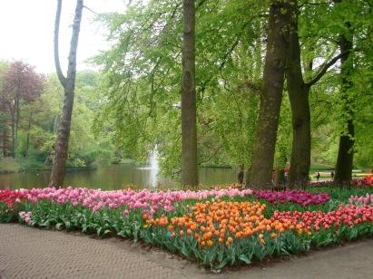 Happy Flowers, Keukenhof, Lisse, Netherlands
