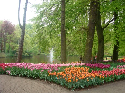 Happy Flowers, Keukenhof, Lisse, Netherlands