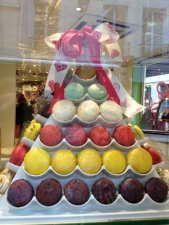 Hmmmm.... macarons in Paris, France