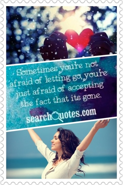 Afraid of Accepting