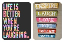 Inspire, Laugh, Love, Hope, Dream & Smile :)
