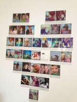 My Polaroid Photo Wall