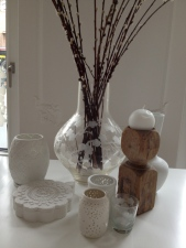 I love the combination White & Natural accessoires