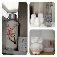 White decoration accessoiries