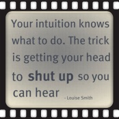 Getting your head to Shut Up ;)