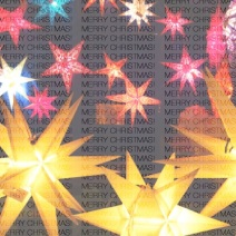 Colorful Xmas Stars