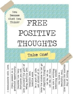 Take a Positive Thought! ;)