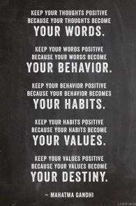 Your Words - Mahatma Gandhi