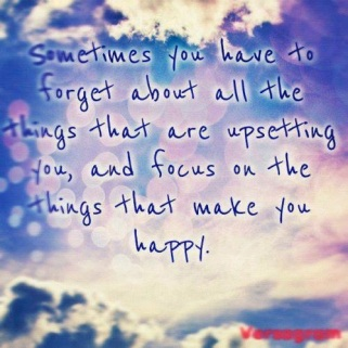 Focus on happiness