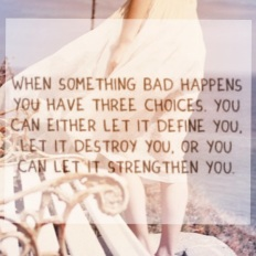 Let it Strengthen You