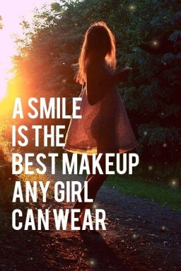 A Smile is the Best MakeUp