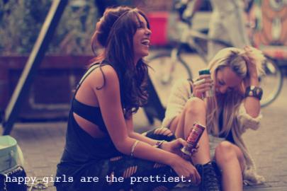 Happy Girls....
