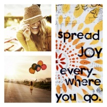 Spread Joy Everywhere you go!