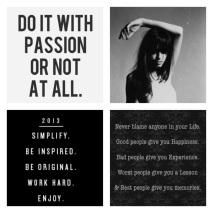2013 Simplify, Passion & Enjoy