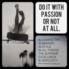Do it with Passion!