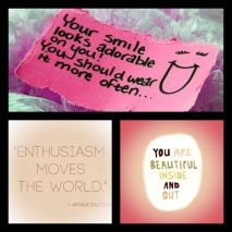 Your smile looks adorable on you!