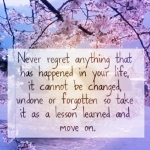 Lesson Learned and Move on!
