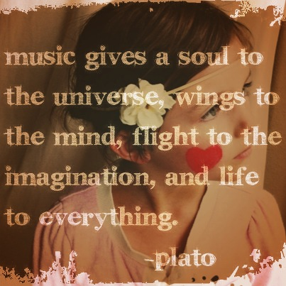 Plato on Music! Love it.