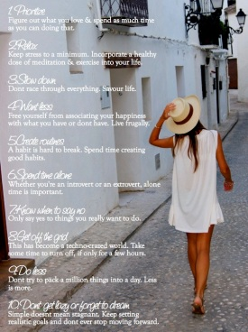 10 Steps to Simplify Your Life