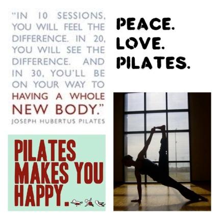 Pilates makes you happy!