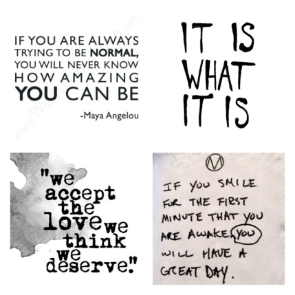 If you are always trying to be NORMAL, you will never know how amazing you can be - Maya Angelou