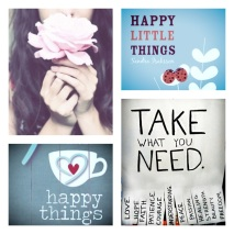 HAppy Things: Take what You need!