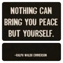 Peace - Ralph Waldo Emerson