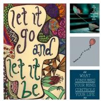 Let it go, Let it be!