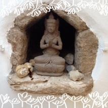 Buddha in Santa Gertrudis (Ibiza)