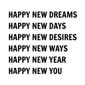 Happy New Dreams, Happy New Days, Happy New Year