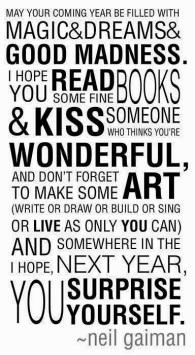 May your dreams come true ...