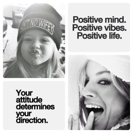 Positive mind, Positive vibes, Positive life!