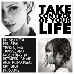 Take Control of Your Life!